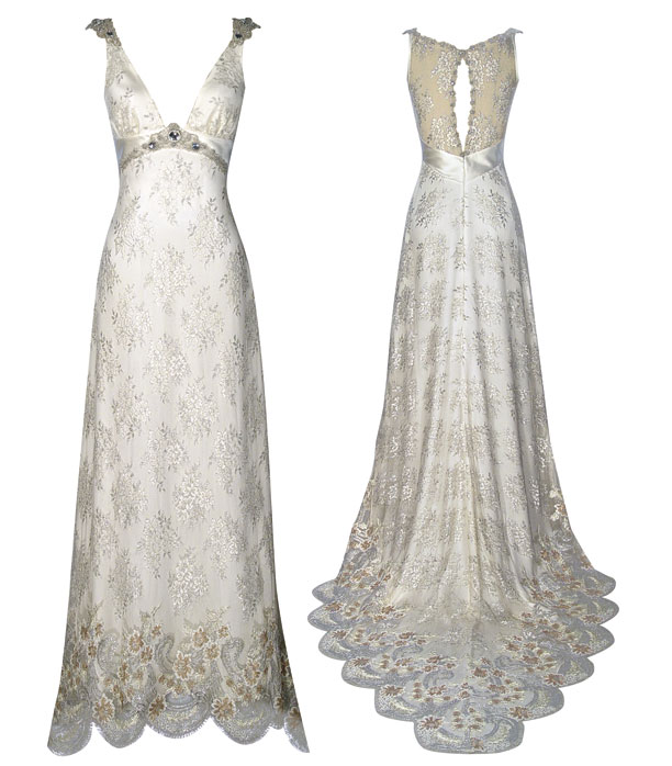 claire pettibone couture wedding dresses | morning passages